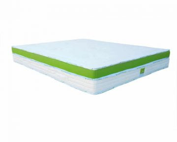 Saltea Green Future Nature Bambus Latex Memory Foam 80x190 cm