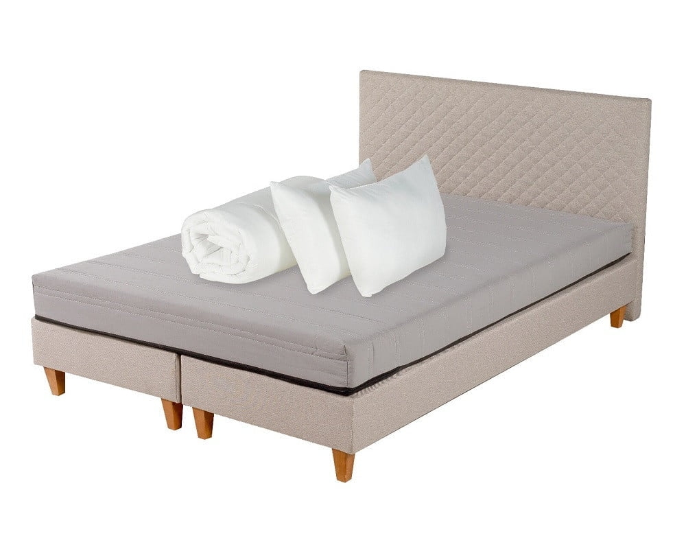 Set Dormitor Starter Bej 160×200 cm