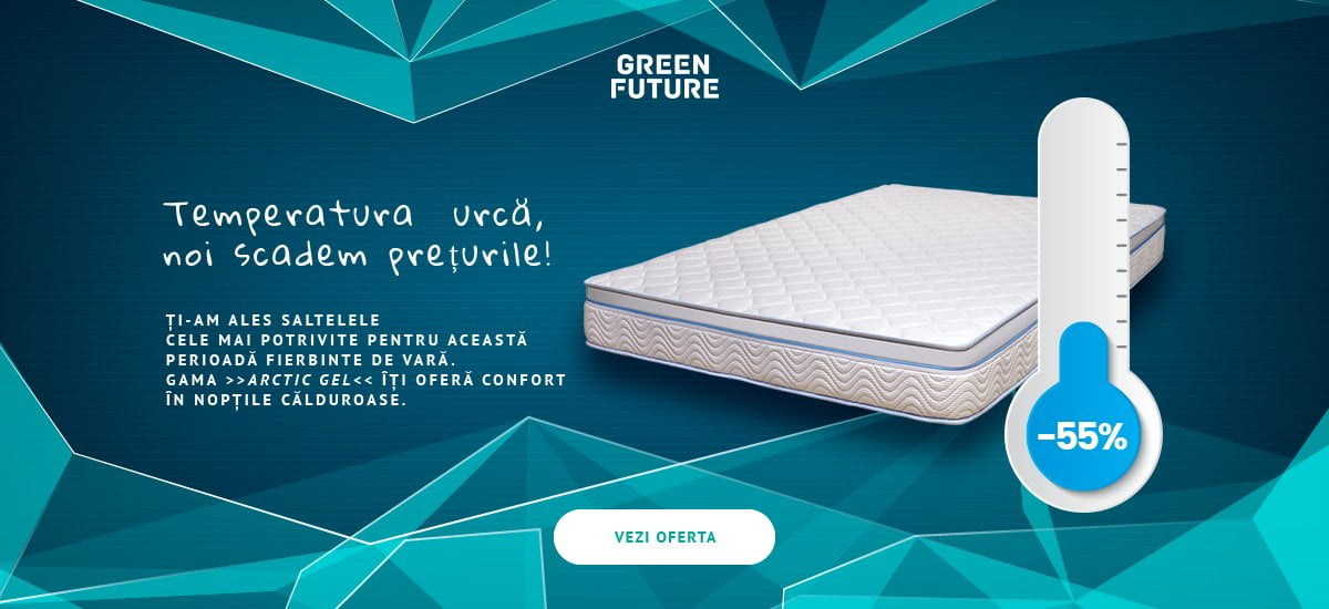 Saltea Green Future Arctic Gel Ortopedica