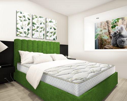 Saltea Super Ortopedica Green Future Eucalyptus Therapy