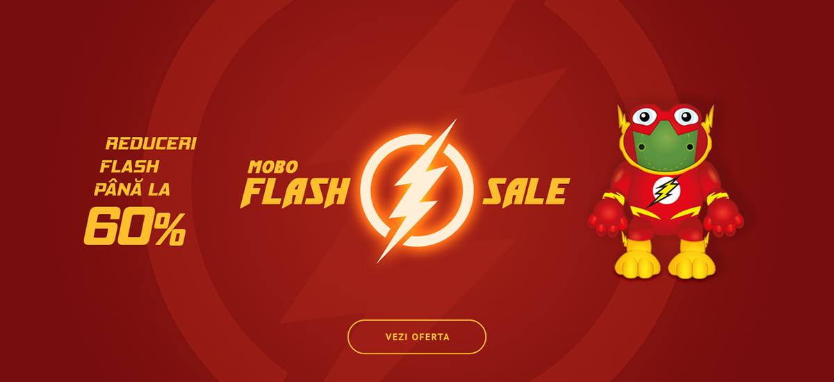 Flash Sale - Pana la -60% reducere!