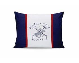 Set Fete de Perna Beverly Hills Polo Club Bleumarin, 100% bumbac, 2 bucati, albastru, alb, rosu, 50x70 cm