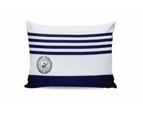 Set Fete de Perna Beverly Hills Polo Club Bleumarin White, 100% bumbac, 2 bucati, albastru, alb, 50x70 cm