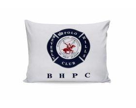 Set Fete de Perna Beverly Hills Polo Club White Polo, 100% bumbac, 2 bucati, albastru, alb, rosu, 50x70 cm